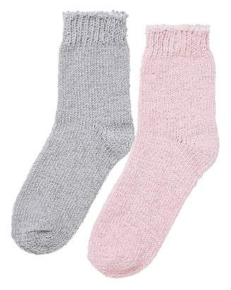Naturally Close 2 Pack Chenille Socks