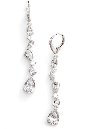 Nadri Ava Linear Drop Earrings