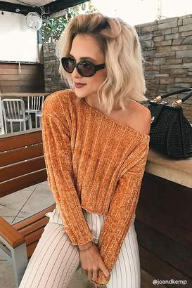 Forever 21 Ribbed Chenille Sweater