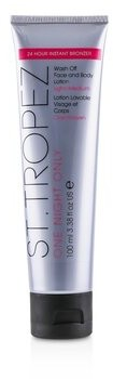 St. Tropez One Night Only Wash Off Face & Body Lotion - Light/Medium 100ml/3.38oz