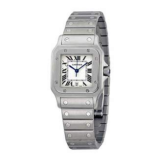 Cartier Men's W20060D6 Santos Galbee Stainless Steel Watch