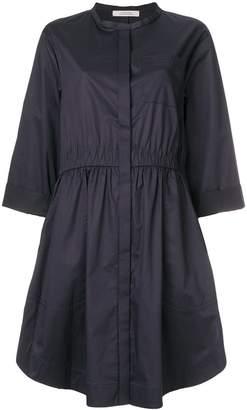 Schumacher Dorothee collarless shirt dress