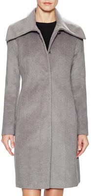 Cole Haan Wool Spread Tall Coat