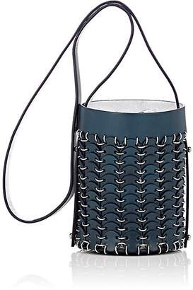 Paco Rabanne Women's 14#01 Mini Chain-Mail Bucket Bag - Navy
