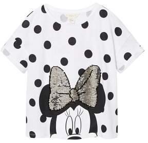 MANGO Reversible sequins Minnie t-shirt