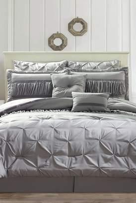 Duck River Textile Marlin 10-Piece King Comforter Set - Silver