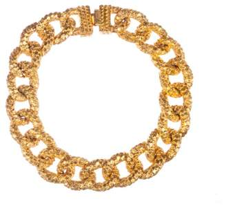 N. Mimi Di Textured Chain Collar Necklace