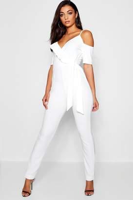4f1ce5c43810 Cold Shoulder Jumpsuit - ShopStyle Australia