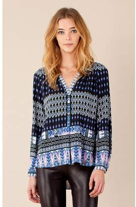 Hale Bob Uny Beaded Deco Top