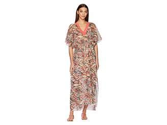 M Missoni Mermaid Print Caftan Long Dress Women's Dress