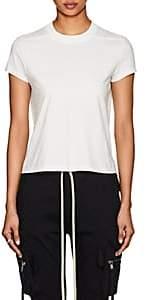 Rick Owens Women's Level Cotton Short-Sleeve T-Shirt-Milk