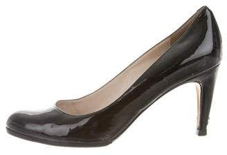 KORS Round-Toe Patent Leather Pumps
