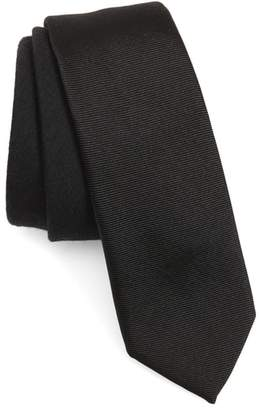 title of work Two-Tone Silk & Wool Tie