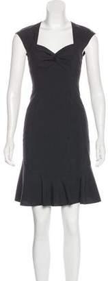 Rebecca Taylor Wool-Blend Mini Dress