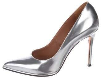 Givenchy Metallic Pointed-Toe Pumps