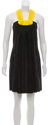 Lanvin Pleated Knee-Length Dress