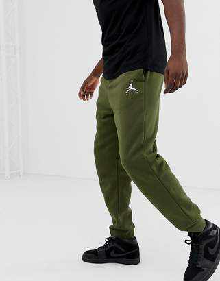 153006b16bee Jordan Nike Jumpman Skinny Joggers In Khaki 940172-395