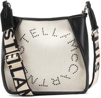 Stella McCartney Stella Logo canvas shoulder bag