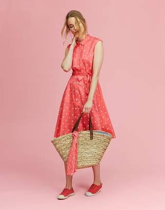 Joules Clothing Tuscany Simple Straw Bag