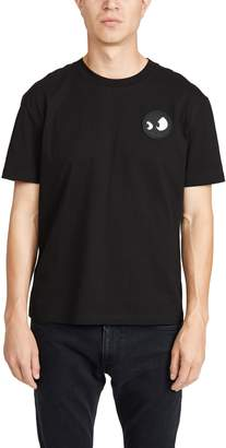 McQ Alexander McQueen Short Sleeve Dropped Shoulder Logo Tee