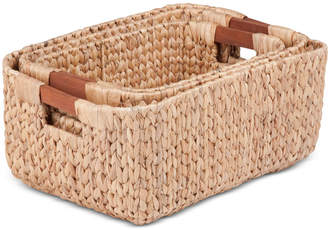 Honey-Can-Do 3-Pc. Rectangular Basket Set