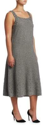 Nic+Zoe Plus Modern Stud A-Line Dress