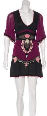 Temperley London Knit Mini Dress