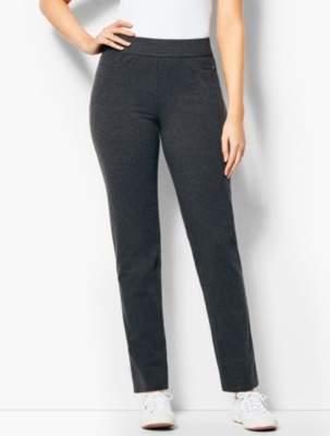 Talbots Everyday Straight-Leg Yoga Pants