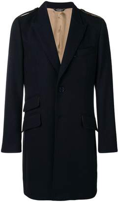 Dolce & Gabbana tailored mid-length coat