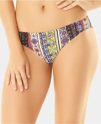 Anne Cole Studio Tile Tease Lace-Trim Bikini Bottoms Women Swimsuit