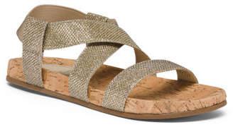 Stretchy Slingback Sandals