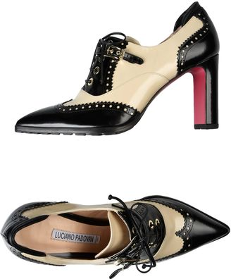LUCIANO PADOVAN Lace-up shoes $498 thestylecure.com