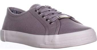 Bebe Womens Dane Low Top Lace Up Fashion Sneakers.