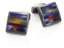 Tateossian Tetris Multi-Color Cuff Links