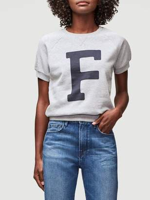 Frame Varsity Short Sleeve Sweatshirt