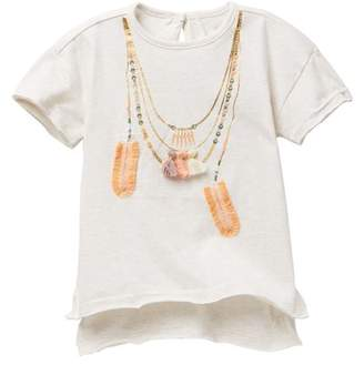 Jessica Simpson Embellished Top (Little Girls)