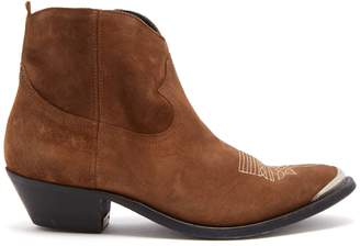 Golden Goose Young suede ankle boots