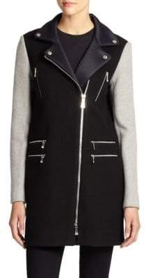 Dawn Levy Alix Wool Scuba Coat