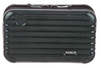 Rimowa Leather-Trimmed Travel Pouch