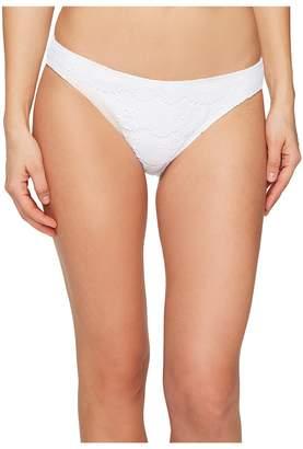 Letarte Medium Coverage Skull Lace Bikini Bottom Women's Swimwear