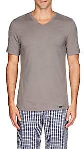 Hanro Men's Liam Cotton-Blend T-Shirt - Gray