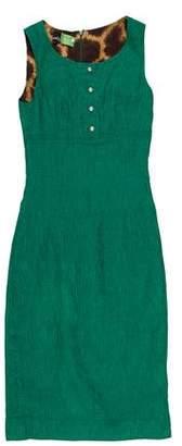 Dolce & Gabbana Sleeveless Scoop Neck Dress