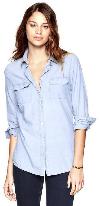 Gap Easy chambray shirt