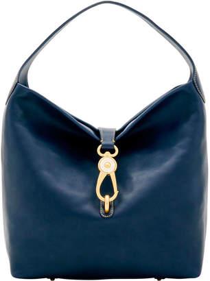 Dooney Bourke Florentine Logo Lock Shoulder Bag