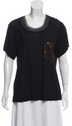 Diane von Furstenberg Paranga Tulle T-Shirt