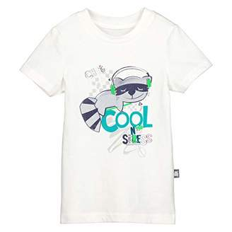 Camilla And Marc Boy's T-Shirt Short Sleeves No Stress – Size 2/3 Years (92/98 cm)