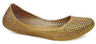 mel Mango Glitter Ballet Flats