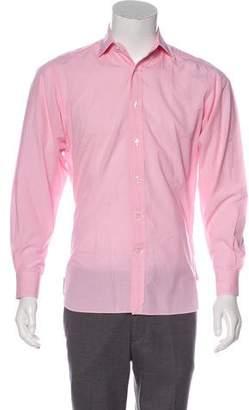 Ralph Lauren Purple Label Printed Button-Up Shirt