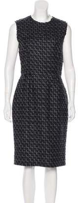 Dolce & Gabbana Tweed Wool-Blend Dress