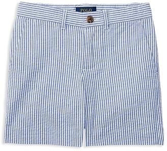 Ralph Lauren Childrenswear Boys' Seersucker Fit Shorts - Little Kid, Big Kid $55 thestylecure.com